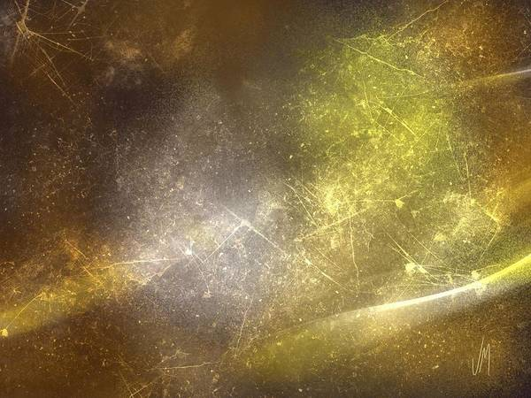 Magical Digital Art - Abstract Magical Forest by Veronica Minozzi