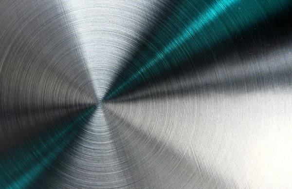 Abstract Metallic Texture With Blue Rays. Art Print