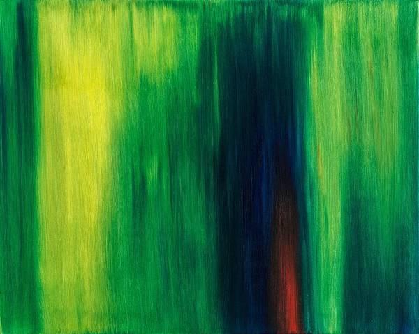 New Beginning Wall Art - Painting - Abstract No 1 Initium Novum by Brian Broadway