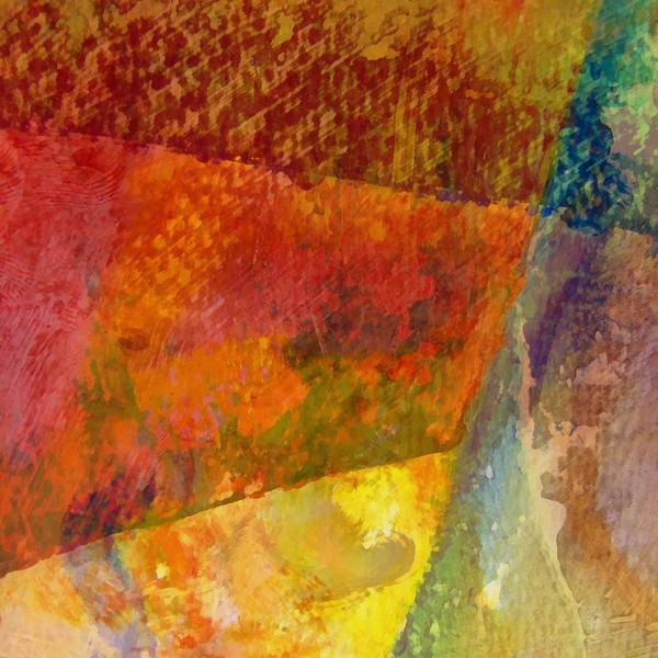 Messy Painting - Abstract No. 2 by Michelle Calkins