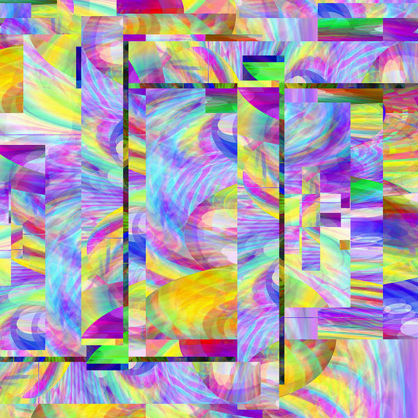 Digital Art - Abstract Number 008 - Digital Art by rd Erickson