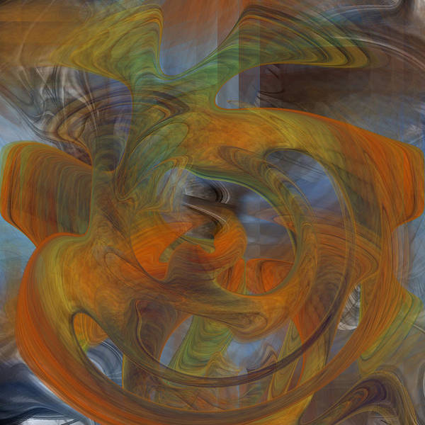 Digital Art - Looking To The Inside - 021 by rd Erickson