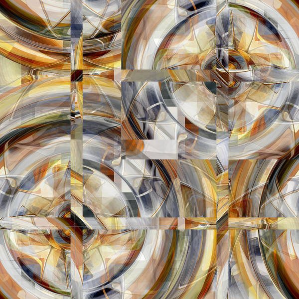 Digital Art - Balanced - 031 by rd Erickson