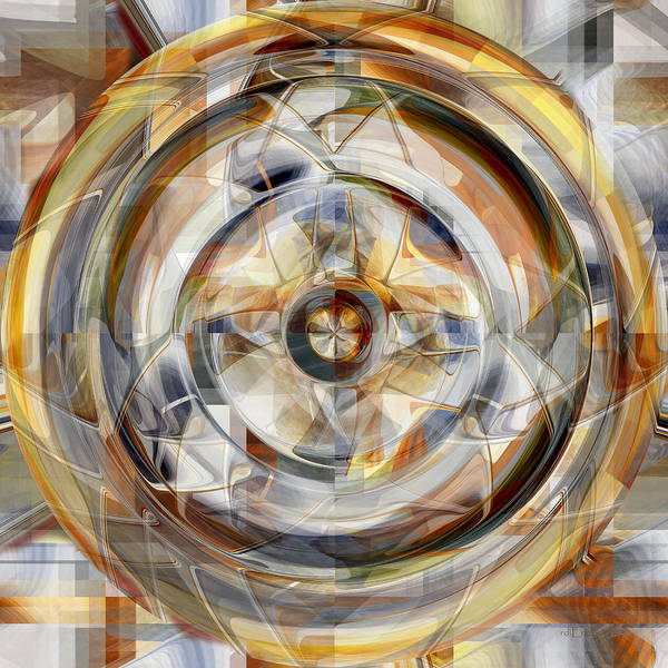Digital Art - Wheel - 32 by rd Erickson
