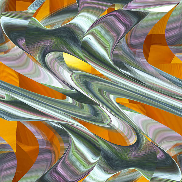 Digital Art - Abstract Number 039 by rd Erickson