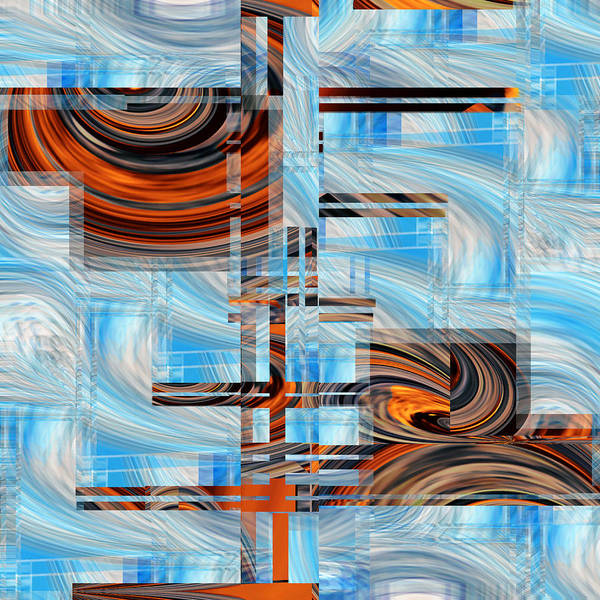 Digital Art - Totem 2 - .67 by rd Erickson