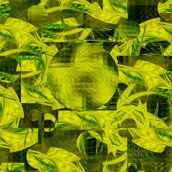 Digital Art - Moongate - 079 by rd Erickson