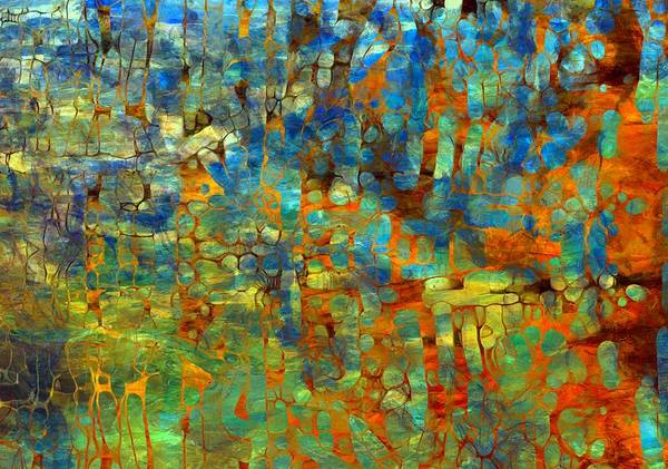 Wall Art - Painting - Abstract Number Four by Dan Sproul