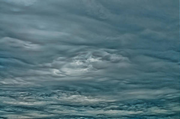 Photograph - Abstract Of The Clouds by Gary Slawsky