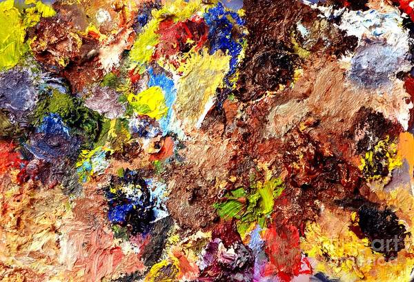 Painting - Abstract One by Christopher Shellhammer