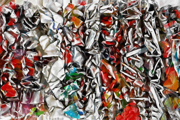 Abstraction Painting - Abstract Order by Lutz Baar