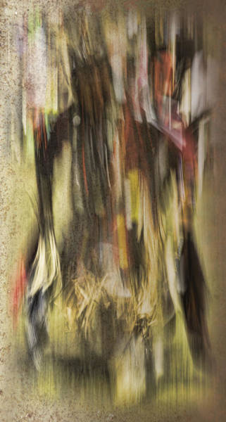 Mohican Photograph - Abstract Pow Wow Dancer by Thomas Young