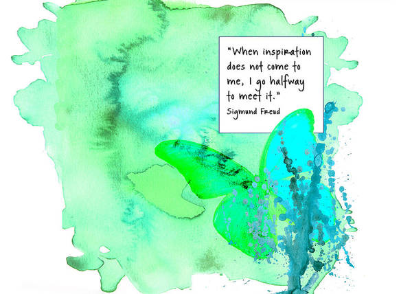 Abstract Quote 1 Art Print