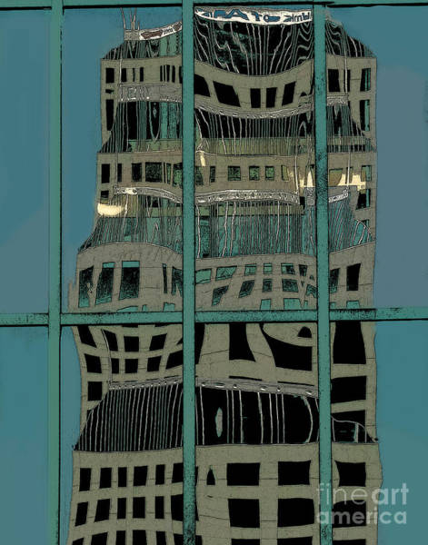 Wall Art - Photograph - Abstract Reflection by Dennis Tyler