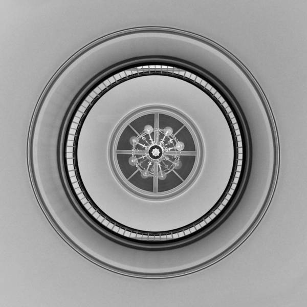 Photograph - Abstract - Rotunda 2 by Richard Reeve