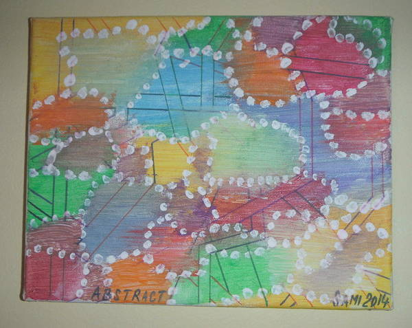 Wall Art - Painting - Abstract by Samuel Ciocan