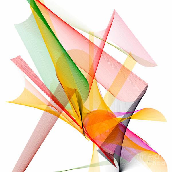 Digital Art - Abstract Series 8 by Rafael Salazar