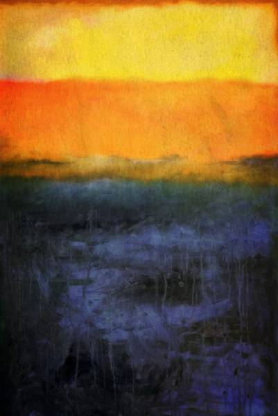 Painting - Abstract Shoreline 4.0 by Michelle Calkins