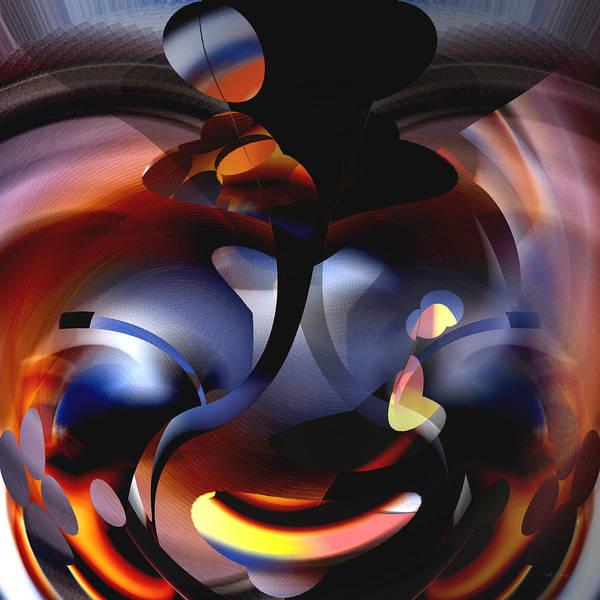 Digital Art - Abstract Speaker Of Internal Fire by rd Erickson