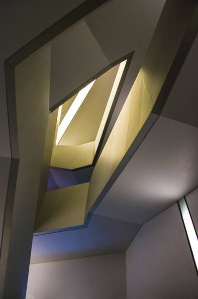 Photograph - Abstract Stairwell by Ross G Strachan