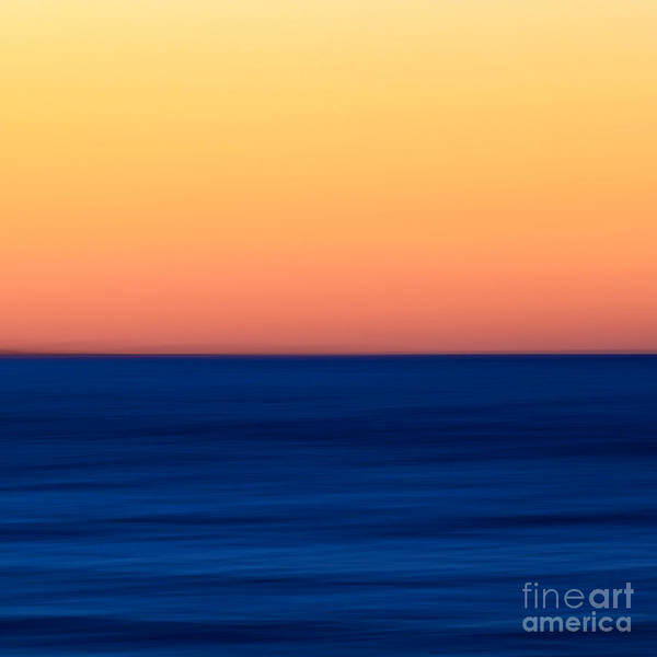 Wall Art - Photograph - Abstract Sunset Over The Ocean by Katherine Gendreau