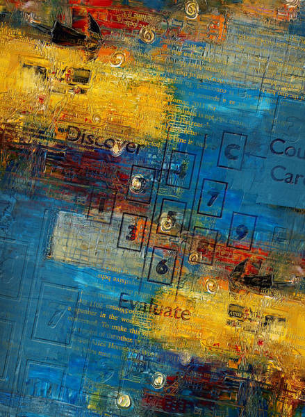 Hebrew Painting - Abstract Tarot Art 016 by Corporate Art Task Force
