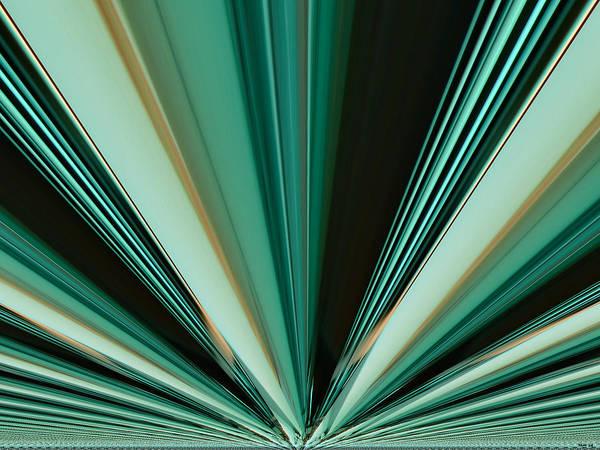 Digital Art - Abstract - Teal - Aqua - Six by Kathy K McClellan