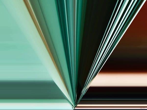 Digital Art - Abstract - Teal - Aqua - Five by Kathy K McClellan