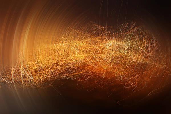 Night Time Digital Art - Abstract Time by Vitaliy Gladkiy