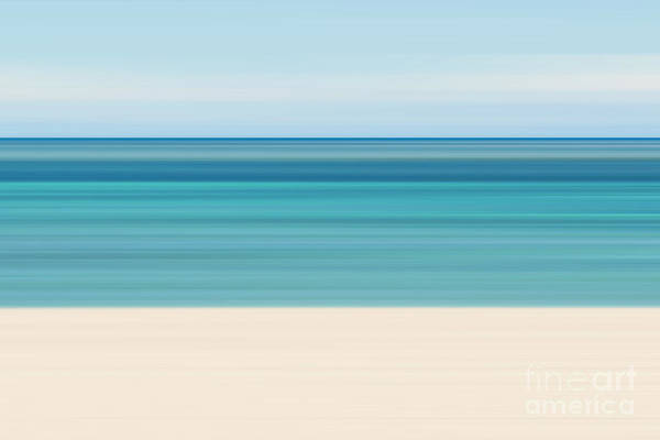 St Kitts Photograph - Abstract Tropical Beach by Katherine Gendreau