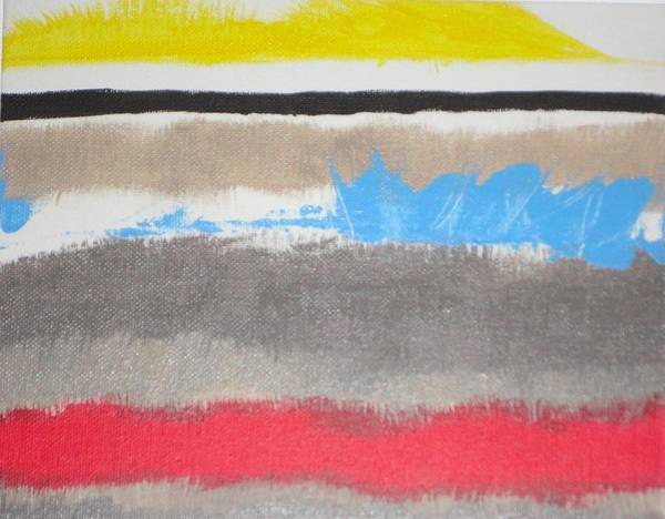 Wall Art - Painting - Abstract Untitled by Valerie Howell