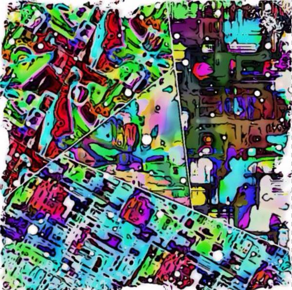 Digital Art - Abstract Vortex by Karen Buford