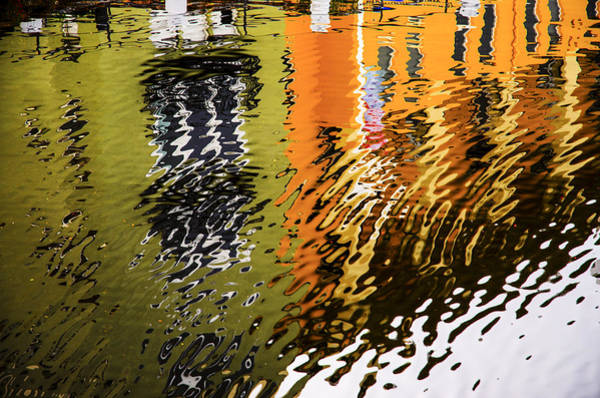 Photograph - Abstract Waterfront by Carolyn Marshall