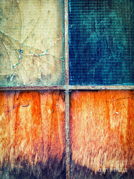 Photograph - Abstract Window by Silvia Ganora
