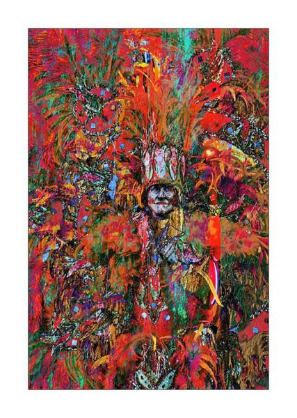Photograph - Abstracted Mummer by Alice Gipson