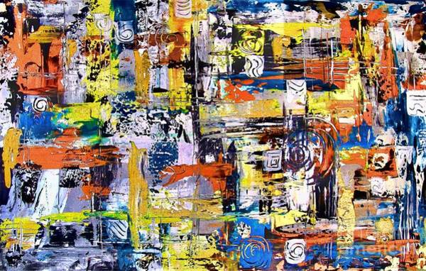 Computer Graphics Painting - Abstraction 759 - Marucii by Marek Lutek