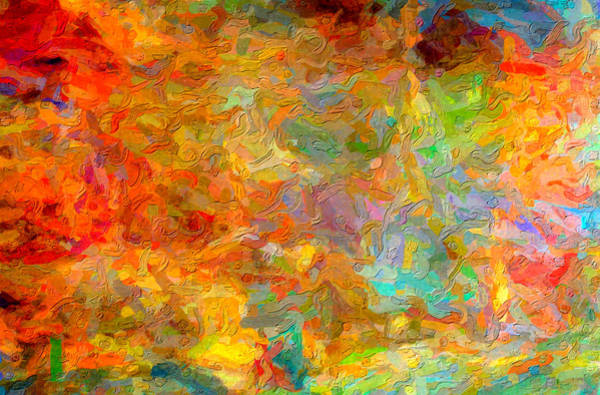Digital Art - Abstracto Impasto by Rick Wicker