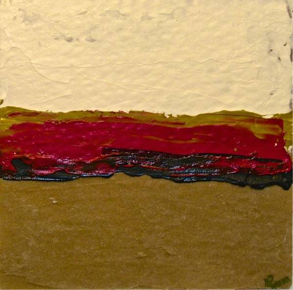 Painting - Abstracts 14 - Disputed Lands by Mario MJ Perron