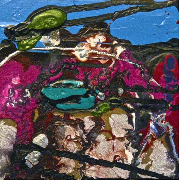 Painting - Abstracts 14 - Seascapes by Mario MJ Perron