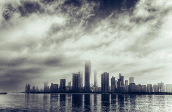 Future Photograph - Abu Dhabi Skyline by Mohamed Kazzaz