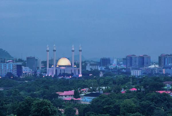 Nigeria Wall Art - Photograph - Abuja National Mosque by Irene Becker Photography