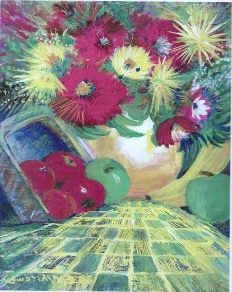 Abundance II Art Print by Anne-Elizabeth Whiteway