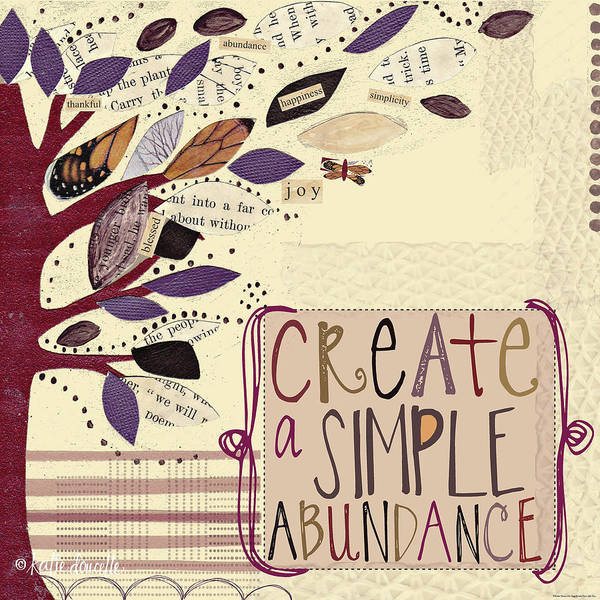 Craft Painting - Abundance by Katie Doucette