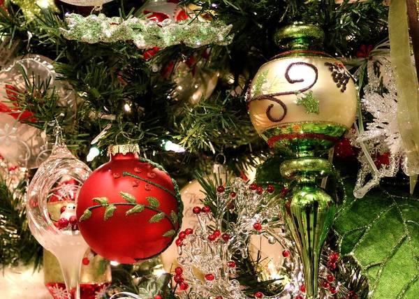 Photograph - Abundance Of Ornaments by Carol Montoya