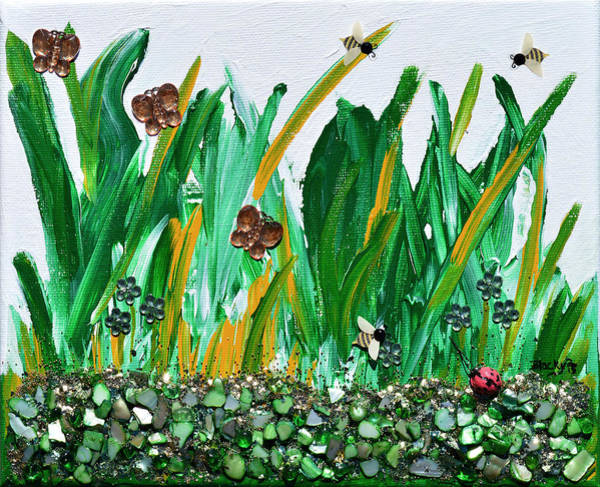 Wall Art - Painting - Abundance Of Spring by Donna Blackhall