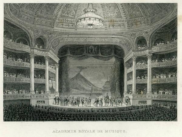 Victorian House Digital Art - Academie Royale Du Musique, Paris by Duncan1890