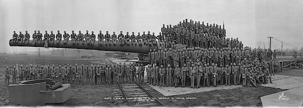 Armament Photograph - Academy Cadets Aberdeen Proving Grounds by Fred Schutz Collection
