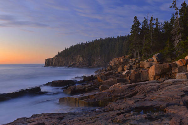 Wall Art - Photograph - Acadia Dawn by Stephen  Vecchiotti