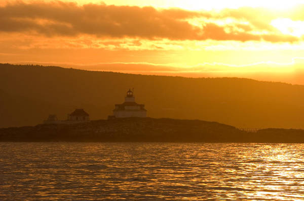 Photograph - Acadia Lighthouse  by Sebastian Musial