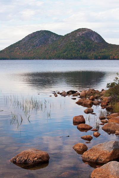 Jordan Pond Photograph - Acadia National Park, Maine--jordan Pond by Ed Reschke